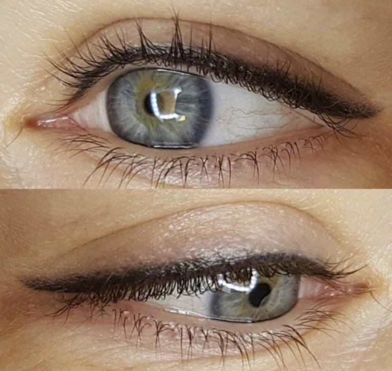 eyeliner application service