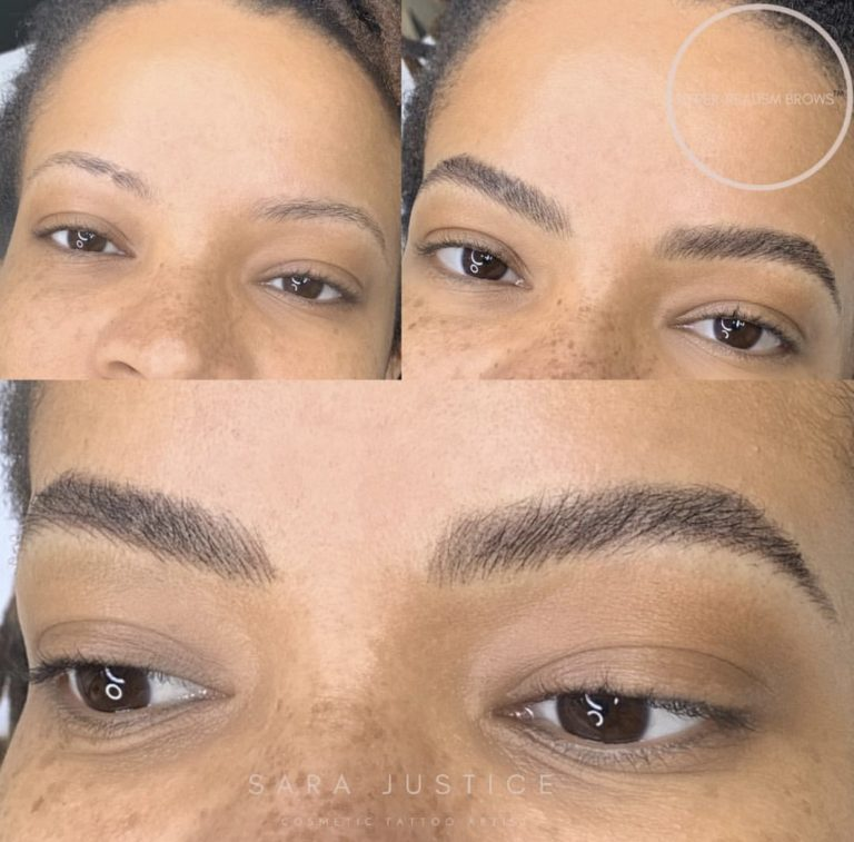 natural looking permanent makeup - not microblading
