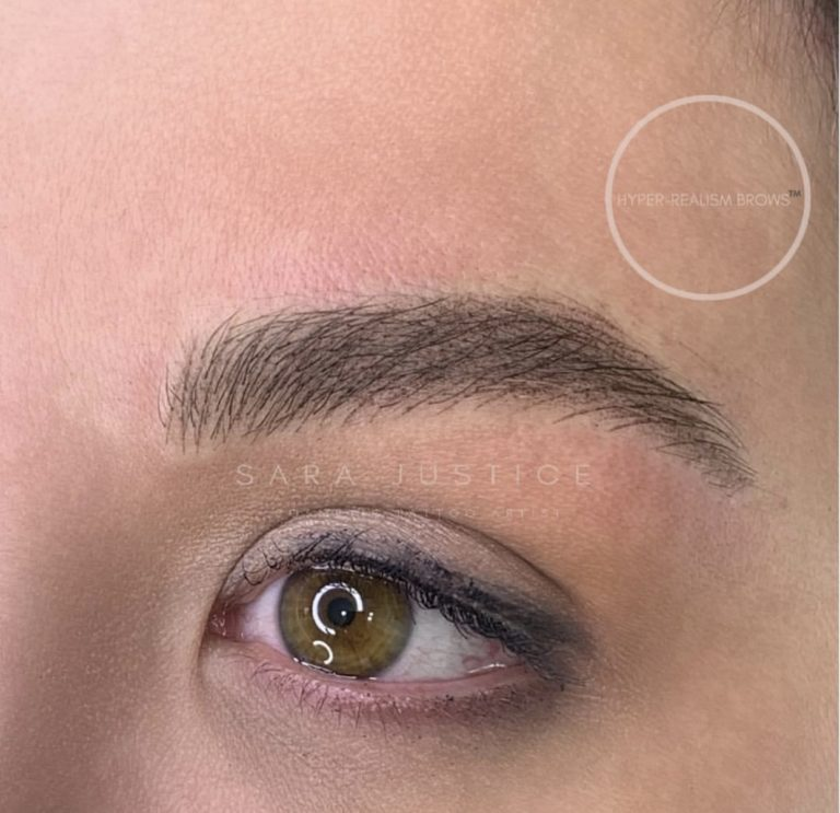 Hyper-realism Brows - example