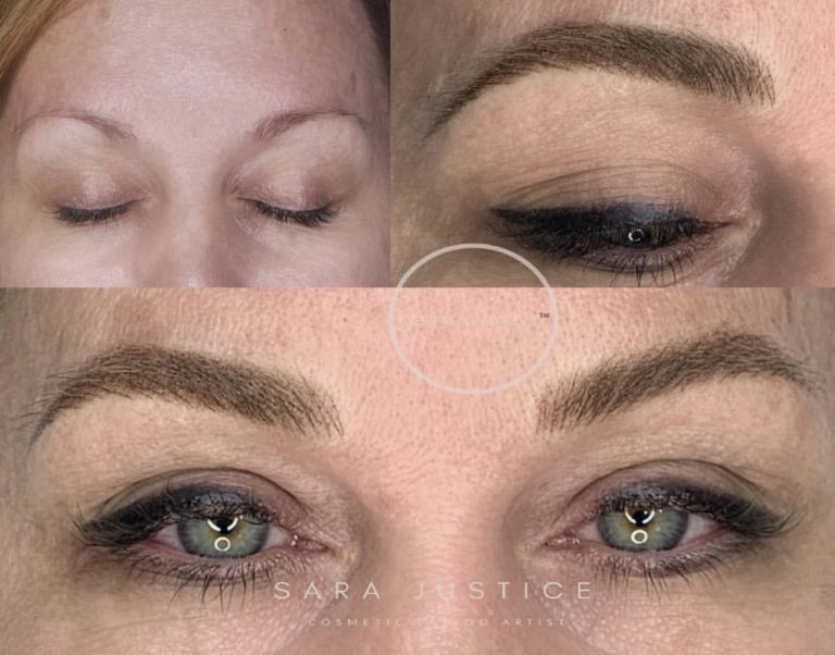 add visual weight to your eyes - like this lady did