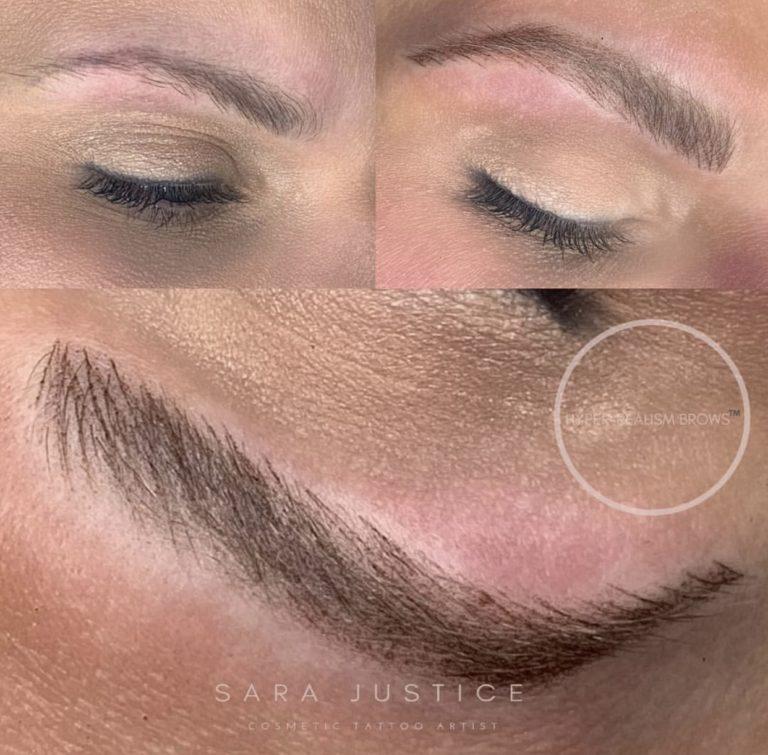 healthier looking eyebrows