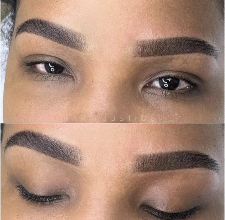 eyebrows for dark skin