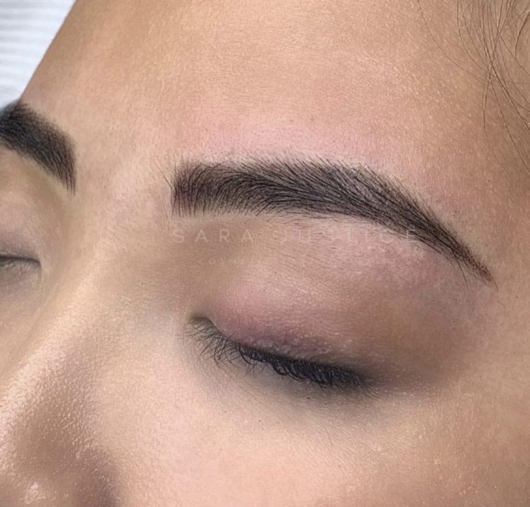 semi-permanent makeup example