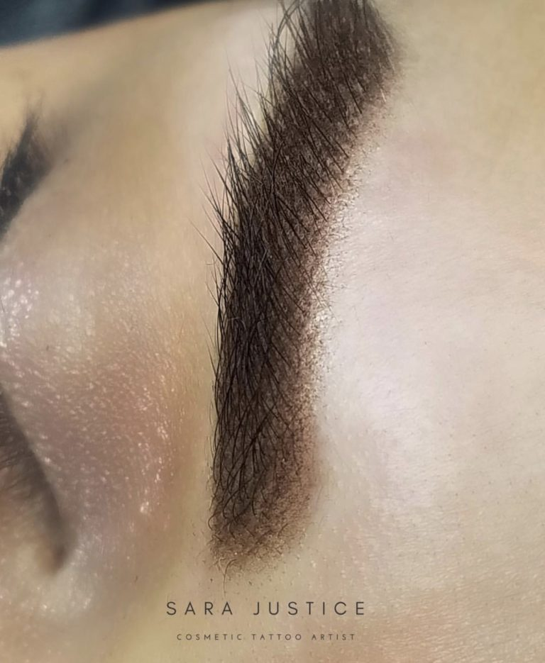 strokes and shading - micropigmentation