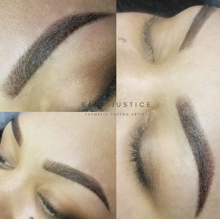 natural looking brows