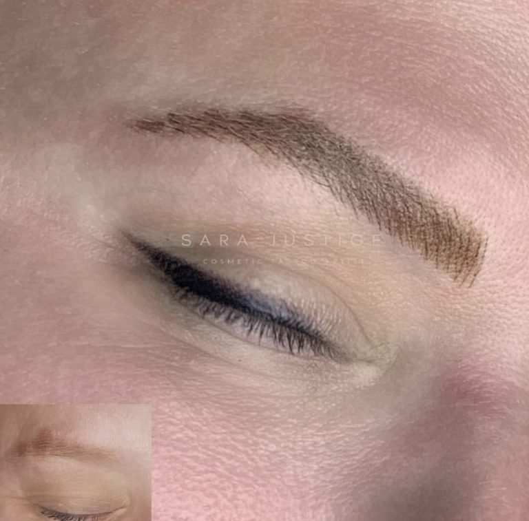 tattooed brows example