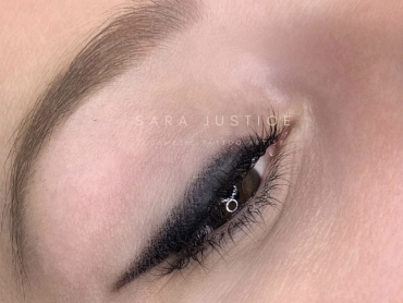 enhanced eyses with permanent makeup