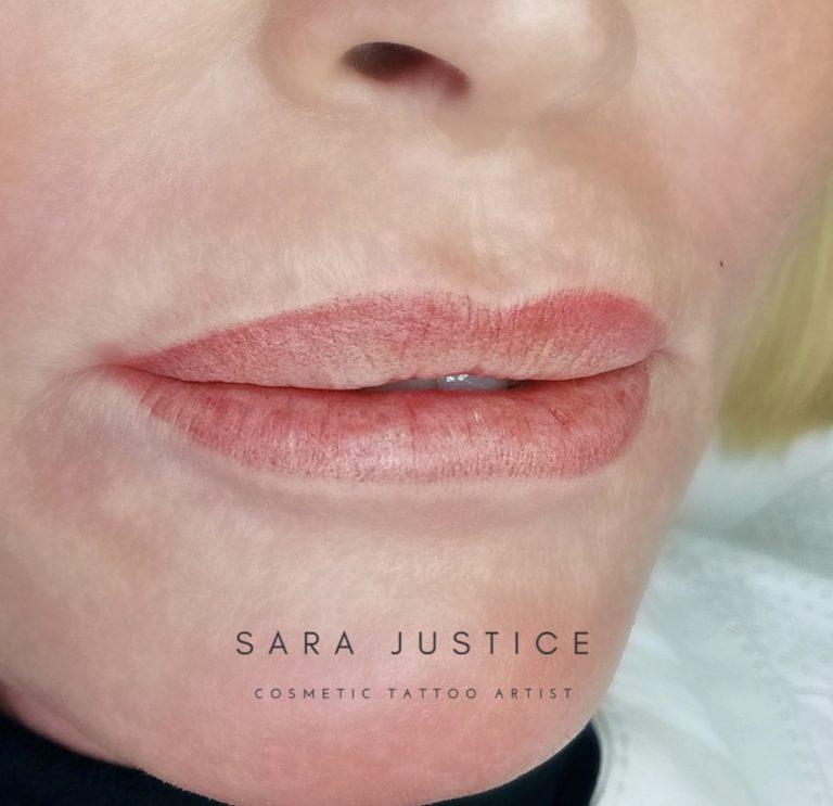 lip close-up